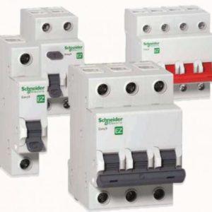 Выключатель Автоматический (АВ) 1п-2п-3п, 10-16-25Ампер УЗО
