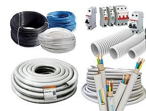 Электротовары ( кабель, розетки, выключатели, АВ)